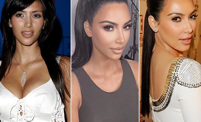 Kim Kardashian's jaw-dropping beauty transformation through the years