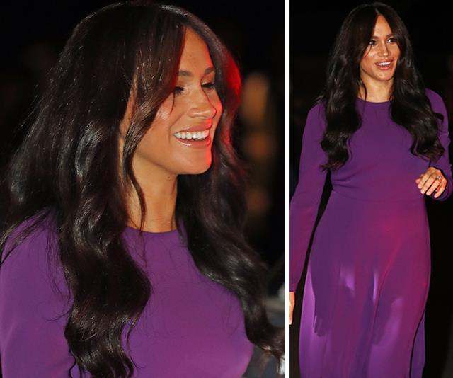 meghan markle purple dress one young world summit