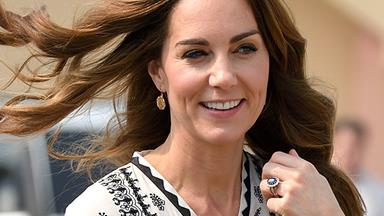 Kate Middleton secretly wore another heavenly blue dress in Pakistan and no one noticed