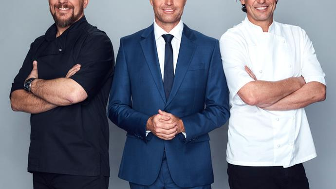 Manu Feildel Colin Fassnidge pete evans my kitchen rules australia judges