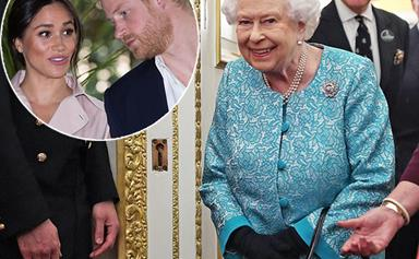 Did the Queen just shade Prince Harry and Duchess Meghan by removing a picture of them?