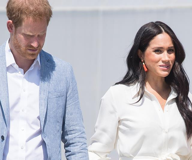 Um. The Royal Family Twitter account just 'liked' a Tweet taking aim at anti-Meghan trolls
