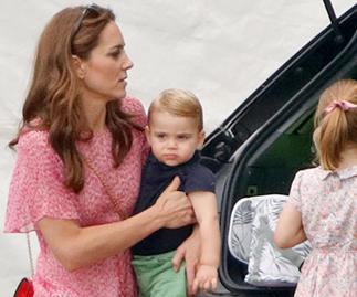 Duchess Catherine spotted at a local supermarket with the kids, revealing where they're currently holidaying
