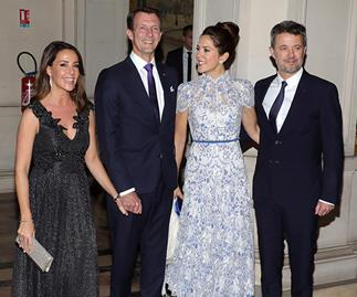 Crown Prince Frederik and Prince Joachim's Danish royal family feud is over