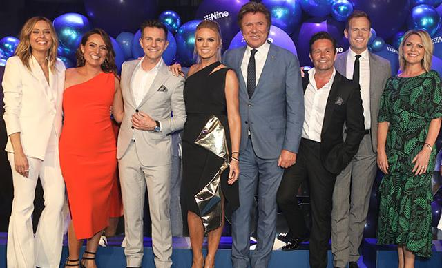 Brushes with the law, blows to egos and jobs hanging by a thread: The truth behind this photo of Nine's stars