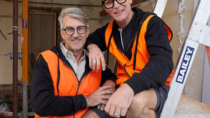 """We may not finish!"" Inside The Block stars Mitch and Mark's budget blowout"