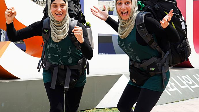The Amazing Race Australia's Rowah and Amani are out to smash Muslim stereotypes