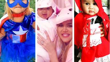 Celebrity babies in Halloween costumes could be the cutest thing you see today