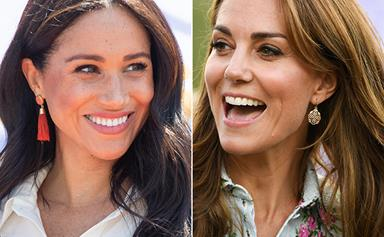 The intriguing theory explaining why Meghan & Kate keep wearing cheap earrings