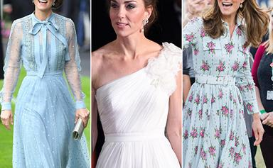 Duchess Catherine subtly transformed her entire wardrobe this year - see it unfold in pictures