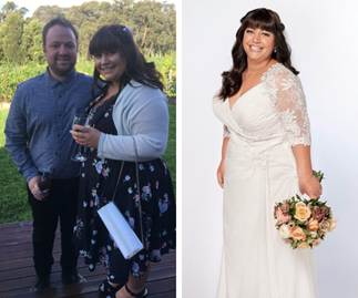 How this bride-to-be lost 28kg just in time for her wedding - and still gets to eat a cheese toastie for breakfast!