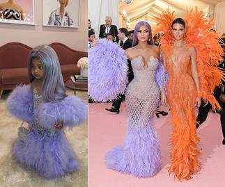 "Kylie Jenner gets slammed for her daughter Stormi's ""narcissistic"" Halloween costume"