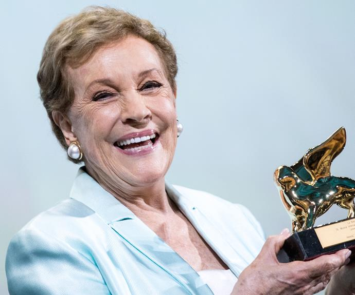 EXCLUSIVE: Dame Julie Andrews on marriage, motherhood and losing her beloved singing voice