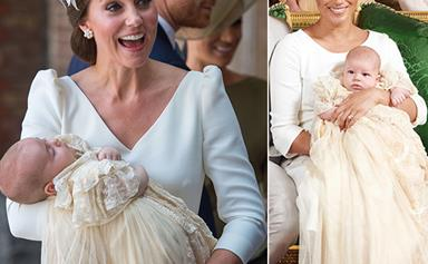 The one utterly wild ingredient used to colour the official christening gown worn by all of the royal babies