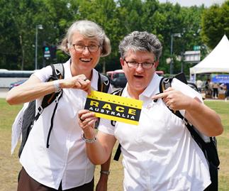 The Amazing Race Australia nuns Judy and Therese reveal they're crushing on Beau Ryan