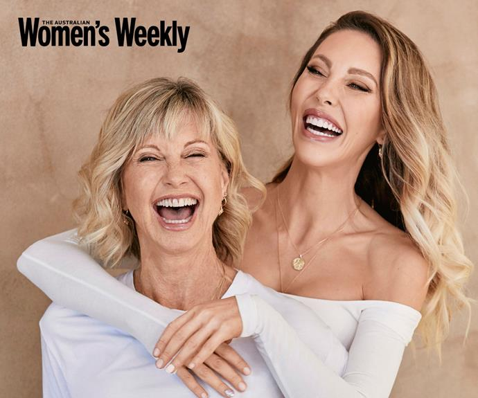 "EXCLUSIVE: Olivia Newton-John and her daughter Chloe Lattanzi: ""Every moment is precious"""