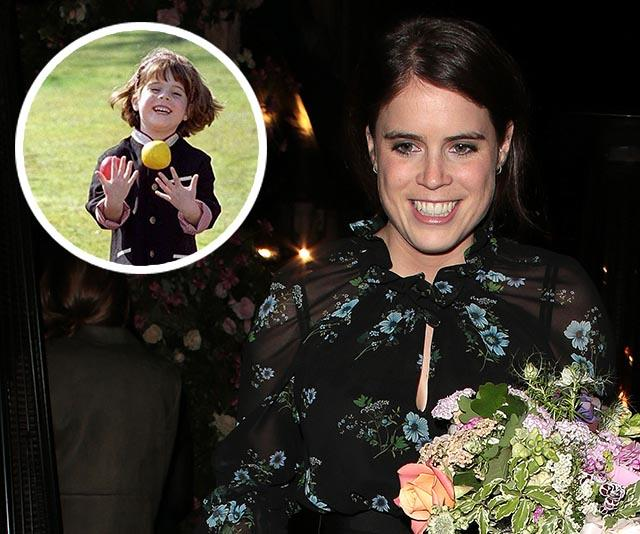 Princess Eugenie shares a never-seen-before royal picture for Halloween