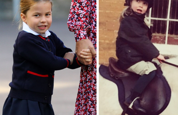 Princess Charlotte looks EXACTLY like this royal in brand new throwback photographs