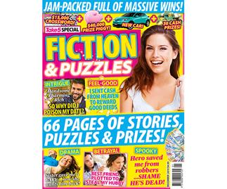 Take 5 Fiction & Puzzles Online Entry Coupon