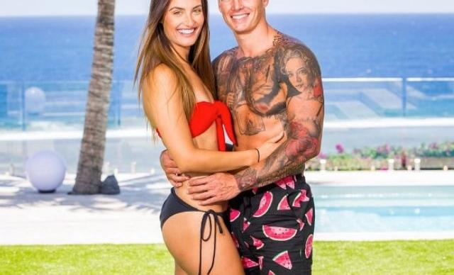 Love Island's Adam and Cartier's unexpected love story in pictures
