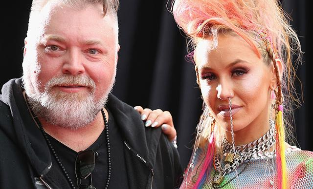 It's over! Kyle Sandilands announces split from Imogen Anthony