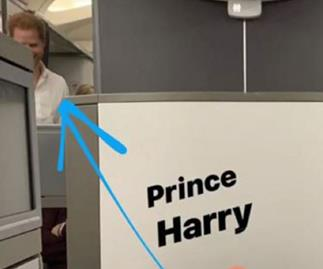 Prince Harry spotted by royal fan on economy flight after private plane scandal