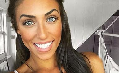 Love Island Australia's Margarita Smith has been accused of photoshopping herself into an influencer's bedroom