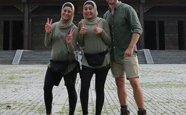 """""""As Muslim women, we can do anything!"""" Rowah and Amani are overwhelmed by the support from Amazing Race fans"""