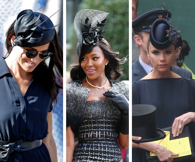 Yes, you can totally wear black to a wedding, says this A-grade celebrity stylist