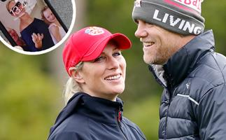 Mike Tindall accidentally just revealed an unseen (and adorable!) royal family pic saved on his phone