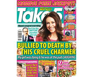 Take 5 Issue 46 Online Entry Coupon