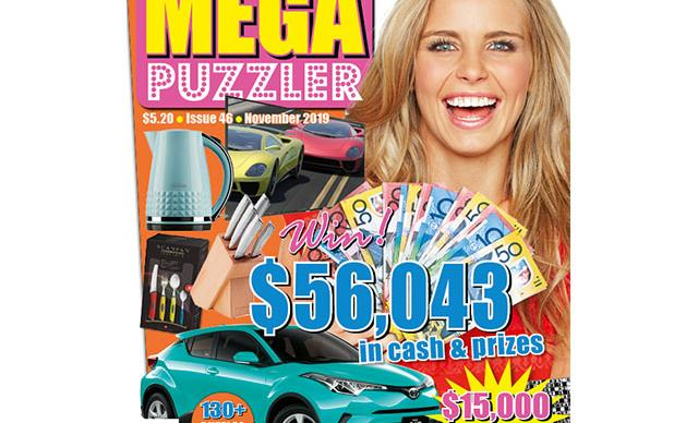 Take 5 Mega Puzzler Issue 46 Online Entry Coupon
