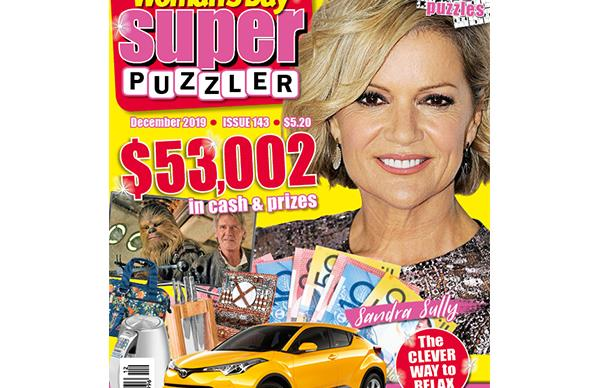 Woman's Day Superpuzzler Issue 143 Online Entry