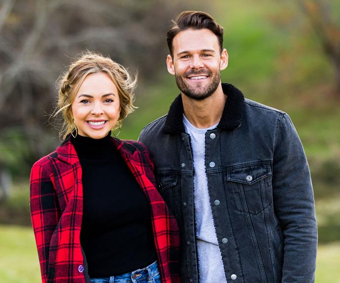 Why Carlin didn't tell Angie about his acting career on The Bachelorette