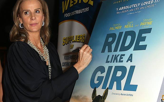 """Rachel Griffiths says she """"found her voice"""" while directing Ride Like A Girl"""