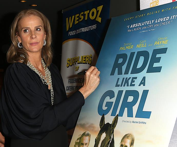 "Rachel Griffiths says she ""found her voice"" while directing Ride Like A Girl"