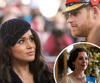 """The Crown star Olivia Colman defends Duchess Meghan and Prince Harry against """"evil"""" treatment"""