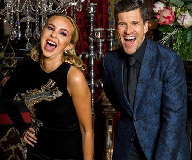 Where was Osher Gunsberg in this year's Bachelorette finale?