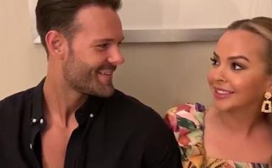 The Bachelorette lovebirds Angie Kent and Carlin Sterritt share joint video confirming they're still together