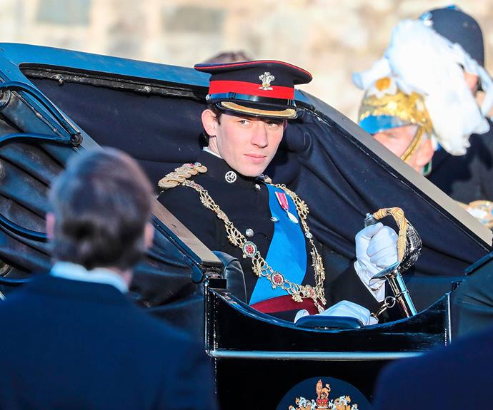 "The Crown's Josh O'Connor explains how the spotlight was ""probably damaging"" to Prince Charles as a young man"