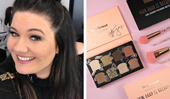 Tanya Hennessy's new makeup line sold out in just two hours on launch day