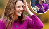 Commuters left stunned as Duchess Catherine catches a public train