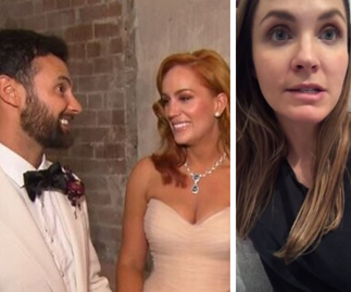 Laura Byrne weighs in on MAFS stars Jules Robinson and Cam Merchant's televised wedding