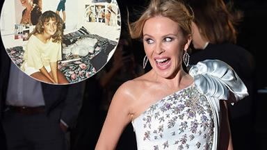 Rose Byrne reveals she was a huge Kylie Minogue fan with throwback pic- and Kylie had the sweetest reaction