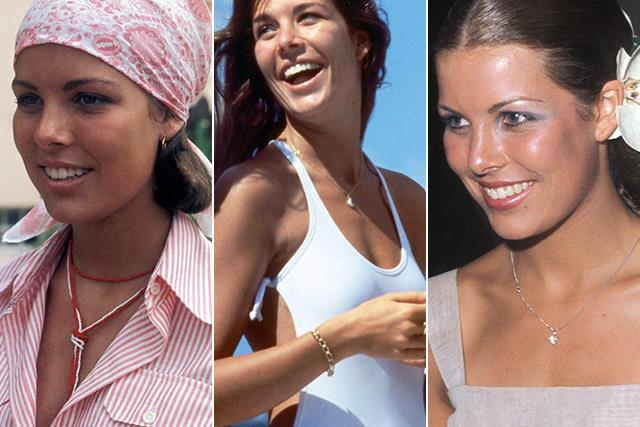 Here's a casual reminder that Princess Caroline, the daughter of Grace Kelly, was the ultimate 1970s siren
