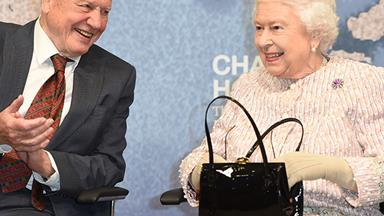 The Queen steps out with David Attenborough moments after shock Palace announcement - and she even cracked a joke!