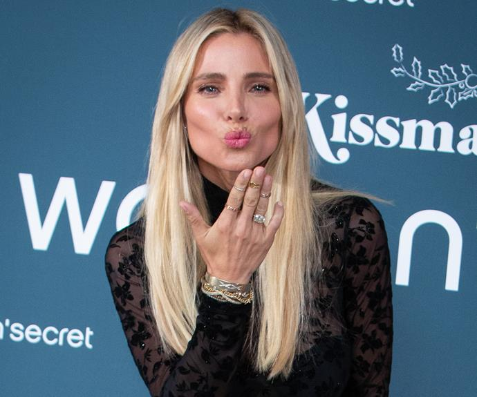 Elsa Pataky shows off her brand new hair extensions