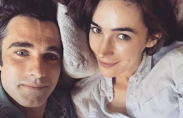 Wanted actress Geraldine Hakewill proposes to her partner