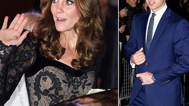 Duchess Catherine pulls out from awards night at the last minute due to the children, leaving Prince William to fly solo