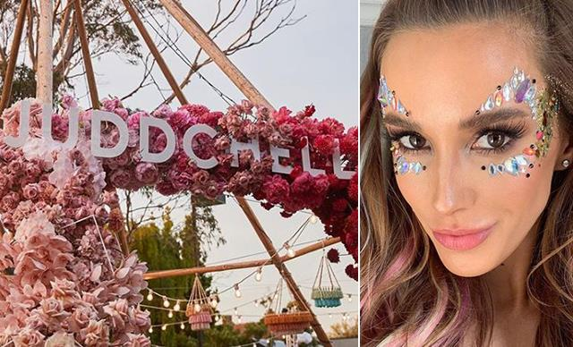 Bec Judd threw the wildest Coachella-themed housewarming, and the pictures need to be seen to be believed